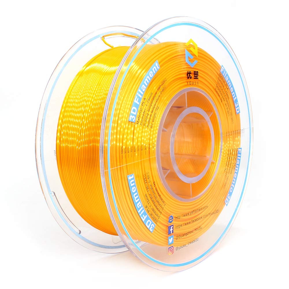 Yousu Pearlescent Gold 3D Printing Filament