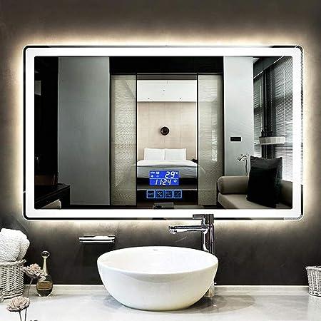 LXYPLM-WM Espejo Iluminación Baño Cuarto de baño LED ...
