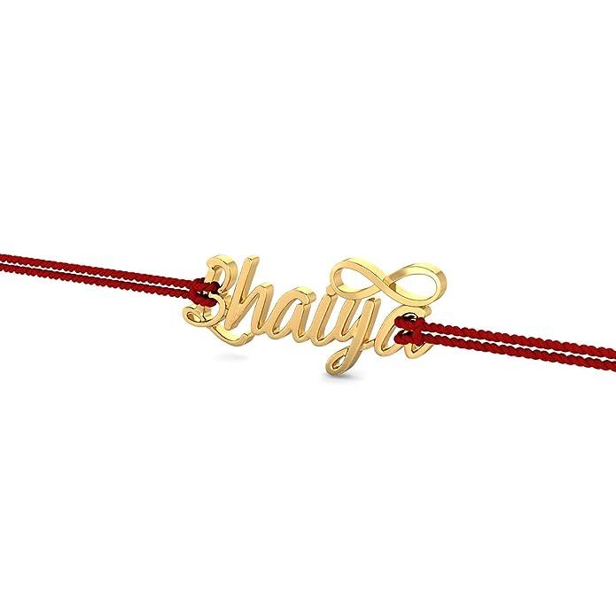 KuberBox 18KT Yellow Gold Bracelet for Men Bracelets   Kadas