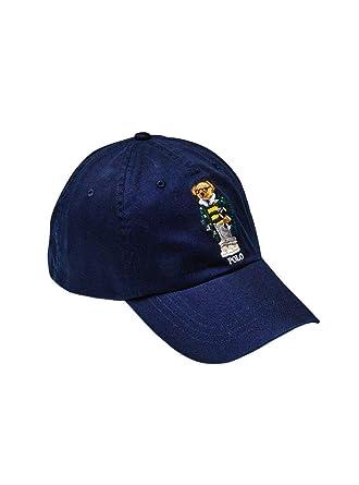 8f9165780d84 Polo Ralph Lauren Casquette Ours Marin Homme Femme U Bleu  Amazon.fr   Vêtements et accessoires