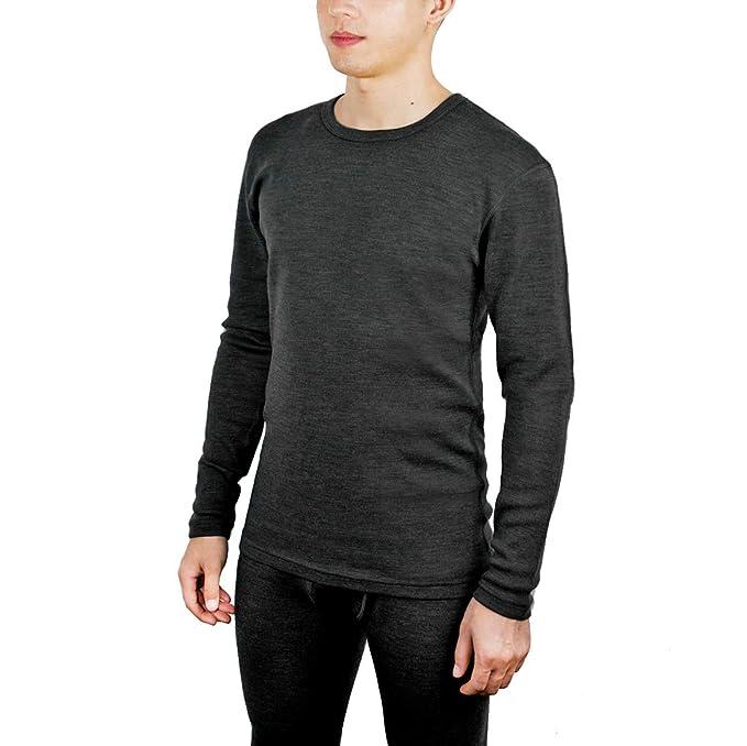 Sheep Run Men's 100% Merino Wool Thermal Underwear Base