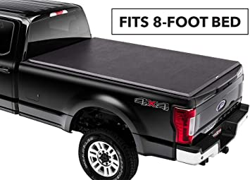 Premium Roll Up Tonneau Cover For 1999-2016 F-250 F-350 Super Duty 8ft Bed