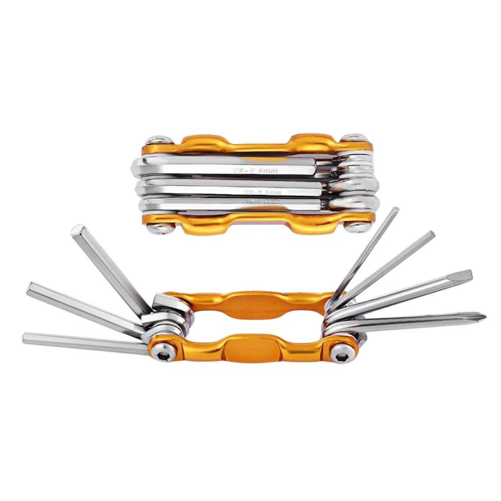 9c7b7f00c92 Red Outdoor Lightweight Durable Compact 7 in 1 Bike Tools Sets Mountain Bike  Cycling Multi Repair ...