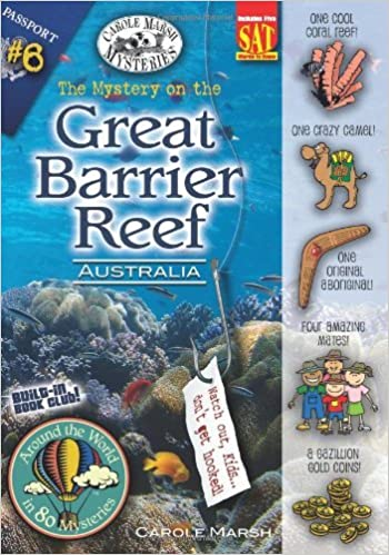 Book The Mystery on the Great Barrier Reef (Around the World in 80 Mysteries) by Carole Marsh (31-Oct-2006)