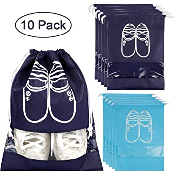 Clothing & Wardrobe Storage Waterproof Shoe Storage Tote Zipper Bag Large Travel Dust Bag Sport Organizer Uk Beautiful And Charming