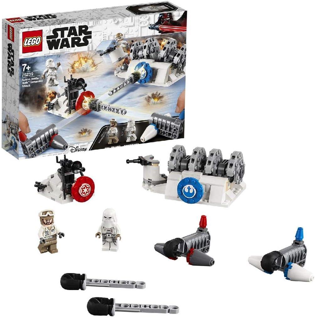 LEGO Star Wars - Action Battle Hoth Generator Attack Costruzioni