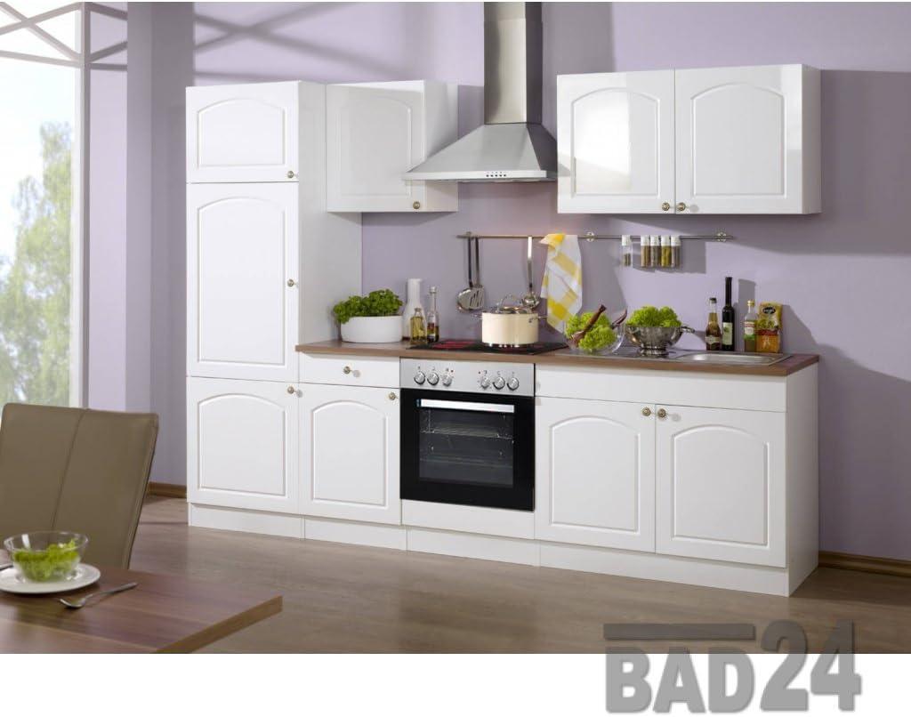 Küchenzeile mit elektrogeräten 16 Braga Komplett inkl. E-Geräte