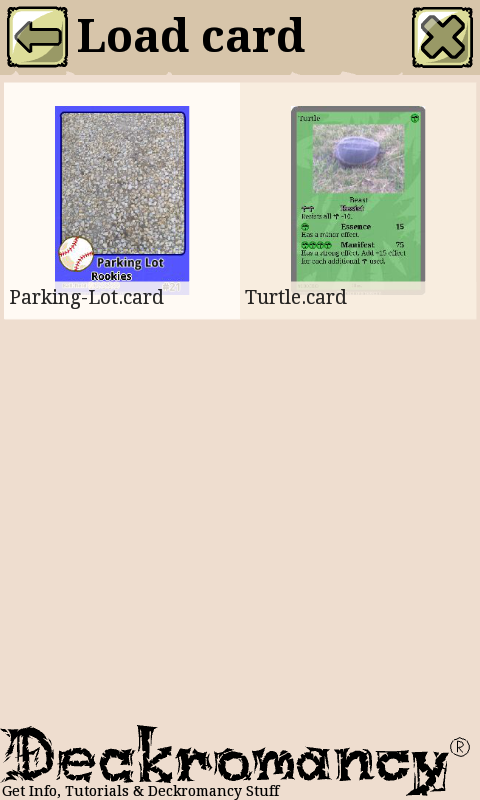 Amazon.com: Deckromancy Free - Trading Card Maker: Appstore for Android