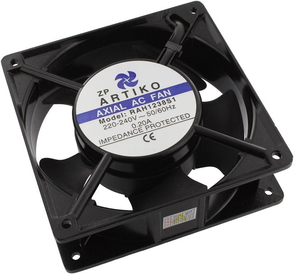 Europart Universal Axial ventilador de refrigeración Asamblea, 18W, 240V, 120x 120x 38mm