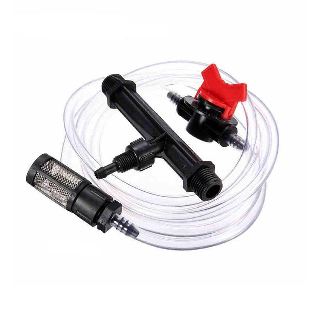 Itemap 3/4'' Garden Irrigation Device Venturi Fertilizer Injector Switch Water Tube Kits
