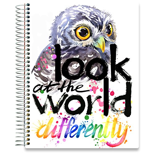 Tools4Wisdom Planners 2018-2019 Daily Planner - 8.5x11 Soft Cover - Dated July 2018 to June 2019 Academic Year Calendar - Plan for a Happy Life Filled with Passion by Setting Weekly and Monthly Goals