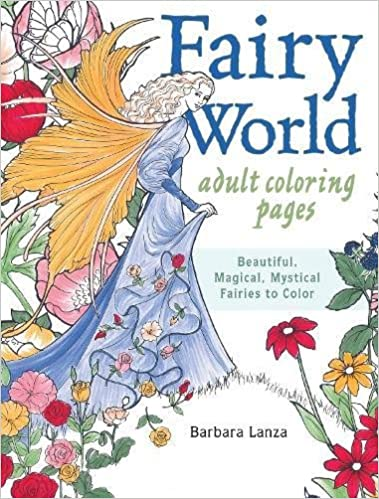 fairy world coloring pages beautiful magical mystical fairies to color
