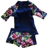 LOSORN ZPY Baby Toddler Boy Girl Two Piece Swimsuit Set Kid Swimwear Bathing Suit UPF 50+