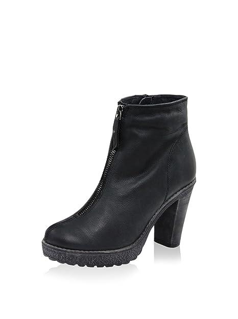 Giorgio Picino Polo, Botines para Mujer, Negro, 36 EU: Amazon.es: Zapatos y complementos