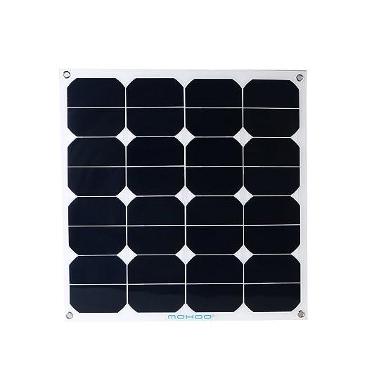4 opinioni per Pannelli solari MOHOO® 50W 18V interfaccia MC4 flessibile per caravan, camper,