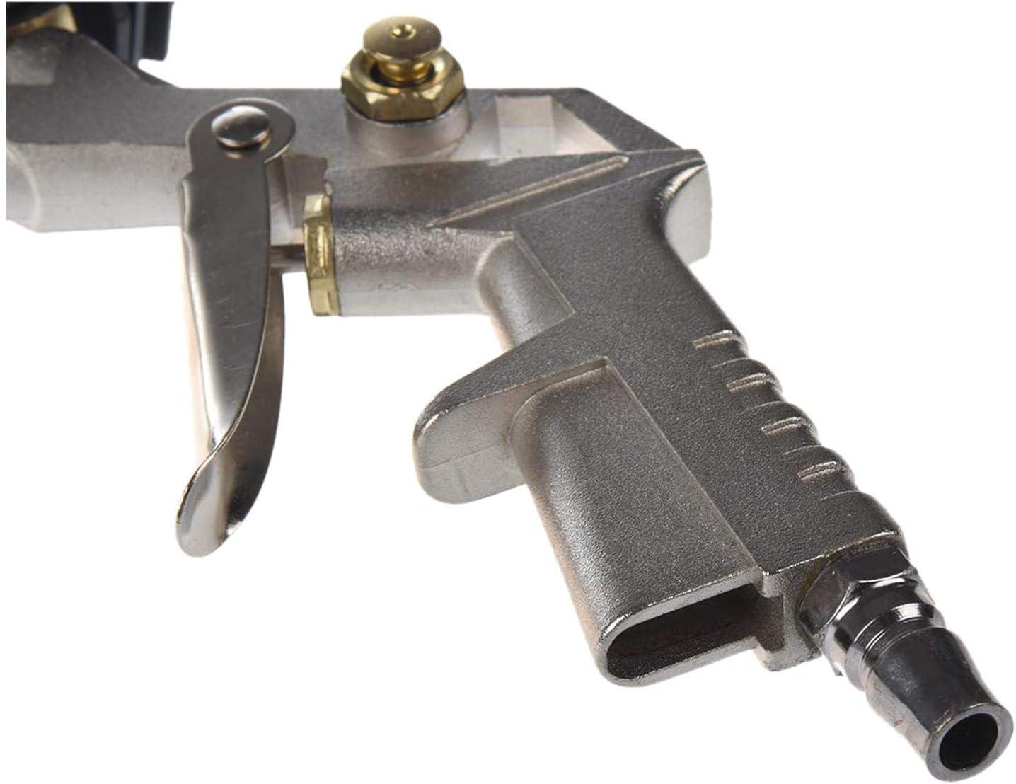 Zeen Herramienta inflador Gauge Tipo de compresor de Aire de la aleaci/ón Conveniente