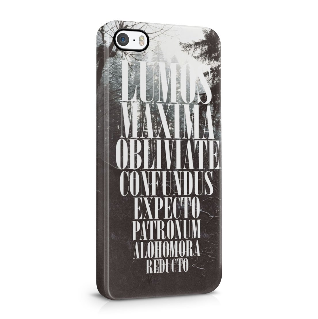 Harry Potter Expecto Patronum Spell iPhone 5 / 5S Hard Plastic Phone Case Cover