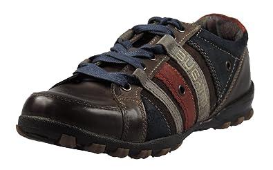 4920de6a4d545c Image Unavailable. Image not available for. Colour  Bugatti D5703-1 Mens  Sneakers Leather ...