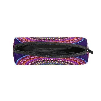 TIZORAX Hippie Mandala - Estuche para lápices de estilo ...