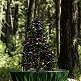 Original Snowing Christmas Tree - 4.5 feet - Green Base