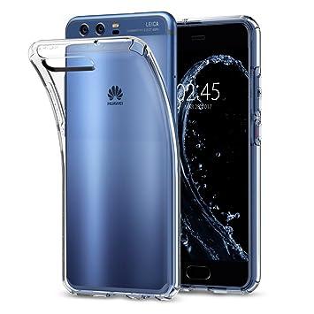 Spigen Funda Huawei P10, [Liquid Crystal] Silicona Transparente [Crystal Clear] Premium Transparente Adecuado, Carcasa Funda para Huawei P10 - ...