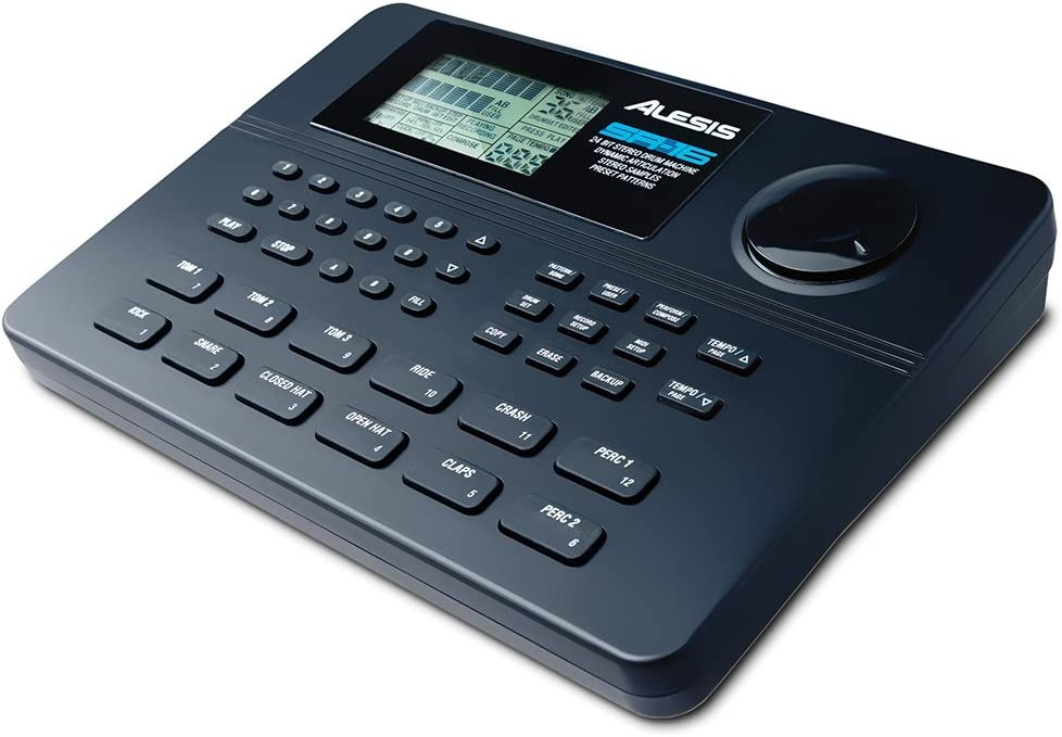 B0002CZYW0 Alesis SR-16 | Studio-Grade Standalone Drum Machine With On-Board Sound Li-brary, Performance Driven I/O and In-Built Effects 610T2F-NnuL