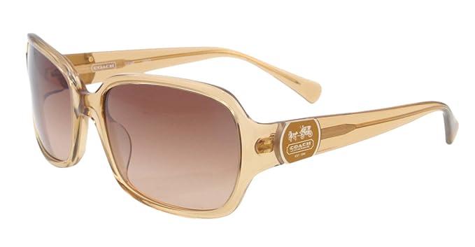 d3f87e66a226 ... cheap coach sunglasses cc 2048 honey 278 sand s2048 amazon clothing  2728f adfde