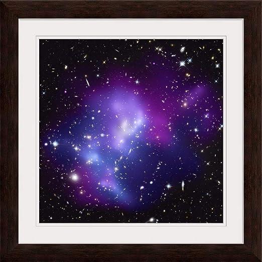 Galaxy Cluster Macs J0717 Fine Art Print