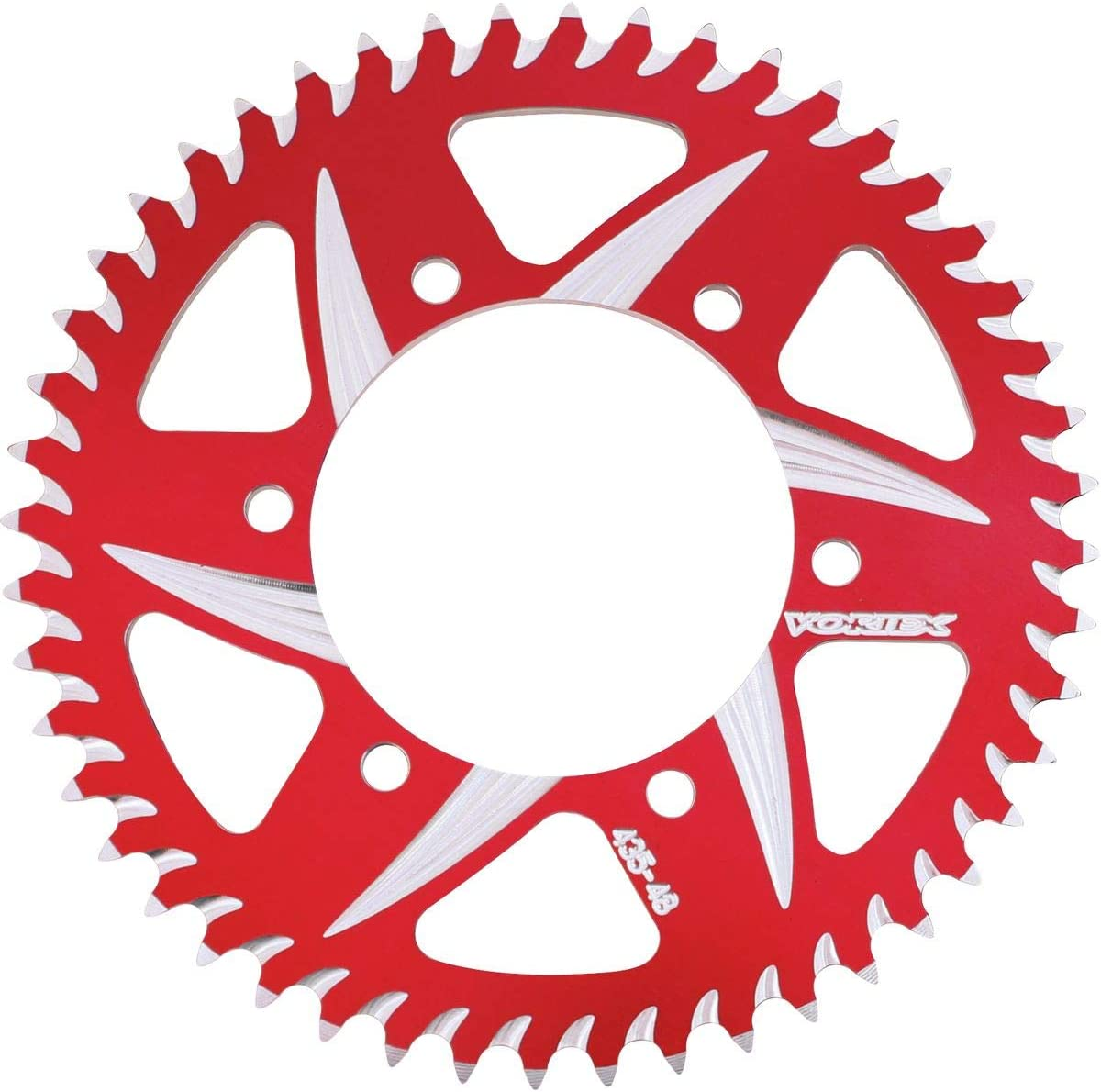 Vortex 866AZR-53 Red 53-Tooth Rear Sprocket