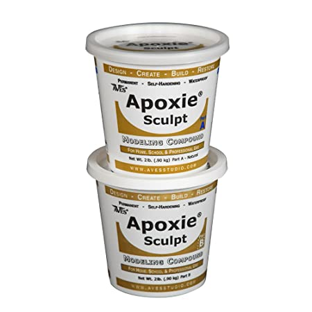Apoxie Sculpt 4 Lb. Epoxy Clay - Natural by Aves Home & Kitchen at amazon