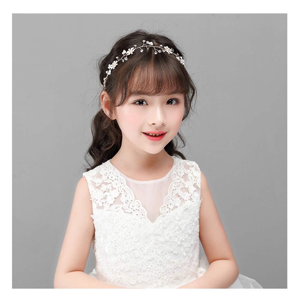 Wreath Flower Children's Head Flower Hair Band Princess Dress Accessories Show Hair Accessories