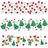Amscan 1 Count Christmas Value Confetti Foil and Paper, 1.2 oz, Multicolor