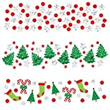 Arts & Crafts : Amscan 1 Count Christmas Value Confetti Foil and Paper, 1.2 oz, Multicolor