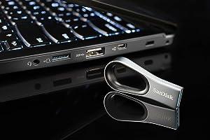 SanDisk 64GB Ultra Loop USB 3.0 Flash Drive - SDCZ93-064G-G46 (Tamaño: 64GB)