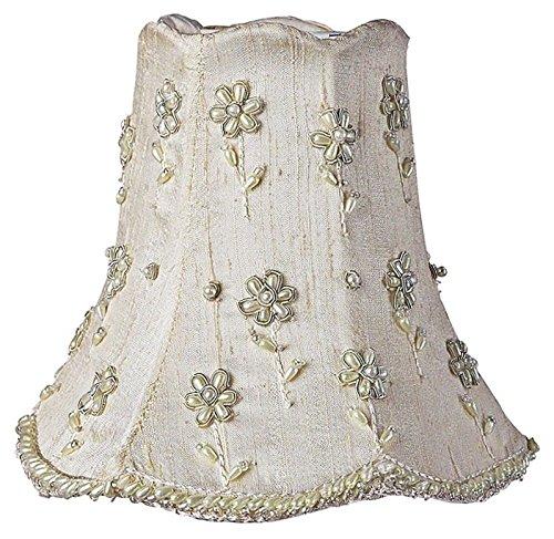 Daisy Pearl Chandelier Shade - Jubilee Collection 2172 Daisy Pearl Chandelier Shade, Ivory