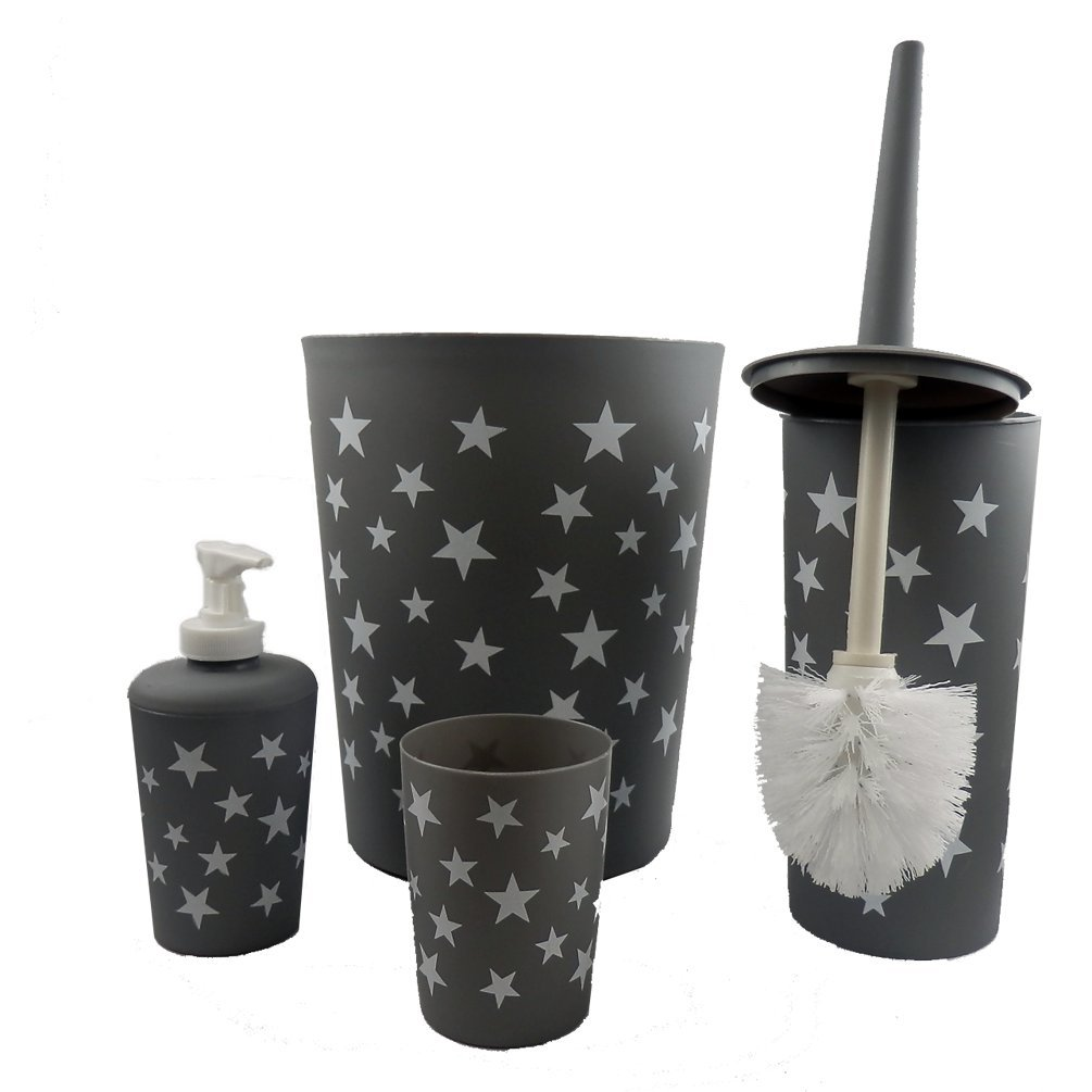 Roxan Bonito Juego de baño (- Dispensador de jabón + WC ...