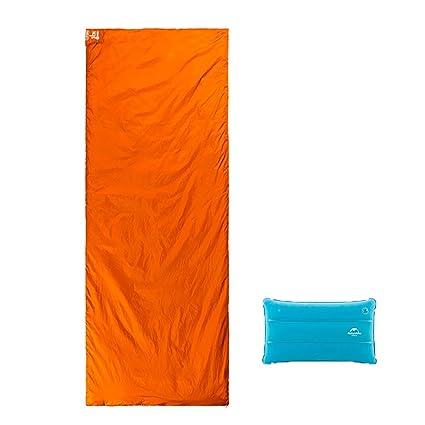 ZML Saco de Dormir Ligero Solo del Sobre, para Acampar yendo de Excursión Sleepovers (