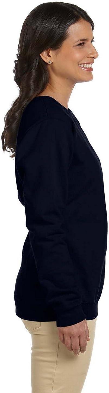 Gildan Heavy Blend Ladies 8 oz 50//50 Fleece Crew
