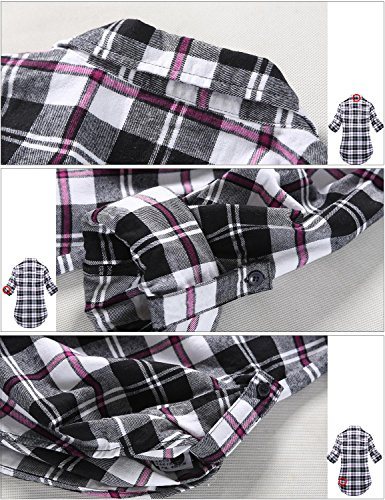 Checks B003 Match Camicia Plaid Flanella 5 2021 Donna wqYaS