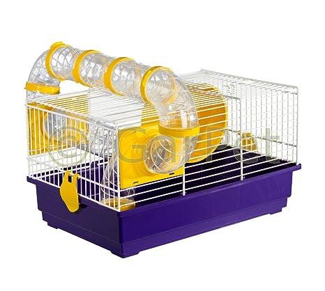 Hámster jaula para roedores ratones jaula Sistema Tubo para ...