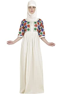 7dfd218816 Home Gown Night Wear Cotton Maxi Dress with Beautiful Embroidery Design  C-144 (XL