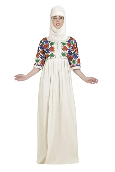 3bf613ea141f Home Gown Night Wear Cotton Maxi Dress with Beautiful Embroidery Design  C-144  Amazon.co.uk  Clothing