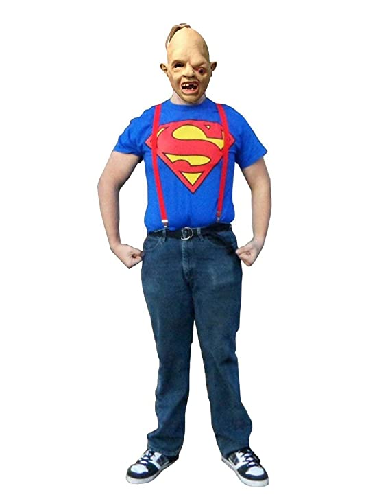 The Goonies Adult Sloth Superman T-shirt Costume - S to 3XL