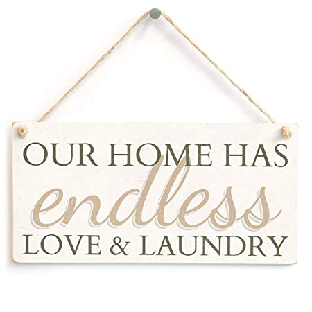 Nuestra casa tiene un sinfín de amor y colada de madera ...