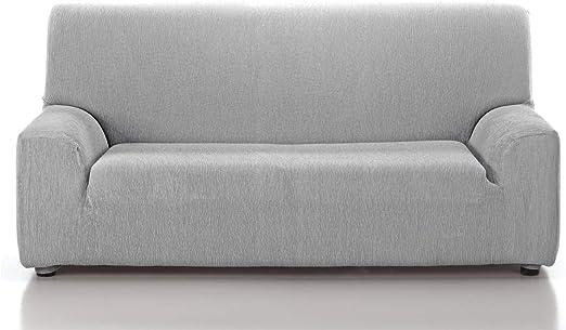 CAÑETE - Funda sofá JARA 3 plazas - Color Gris Claro: Amazon.es: Hogar