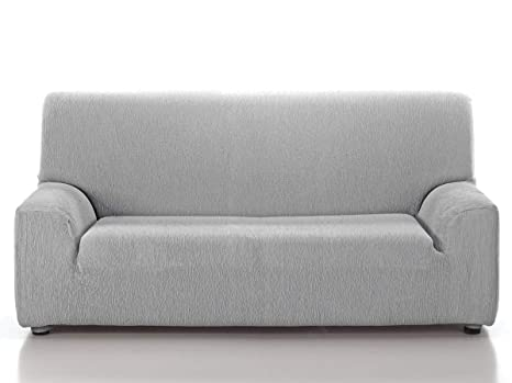 CAÑETE - Funda sofá JARA 3 plazas - Color Gris Claro