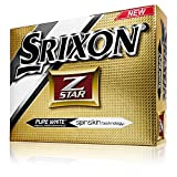 Srixon 2015 Z Star Golf Balls (12-Pack), Pure White