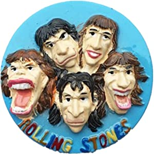 Refrigerator Magnets Resin 3D Funny Rolling Stones UK City Tourist Souvenirs Fridge Stickers Magnetic Fridge Magnet for Whiteboard Home Kitchen Decoration Accessories Arts Crafts Gifts