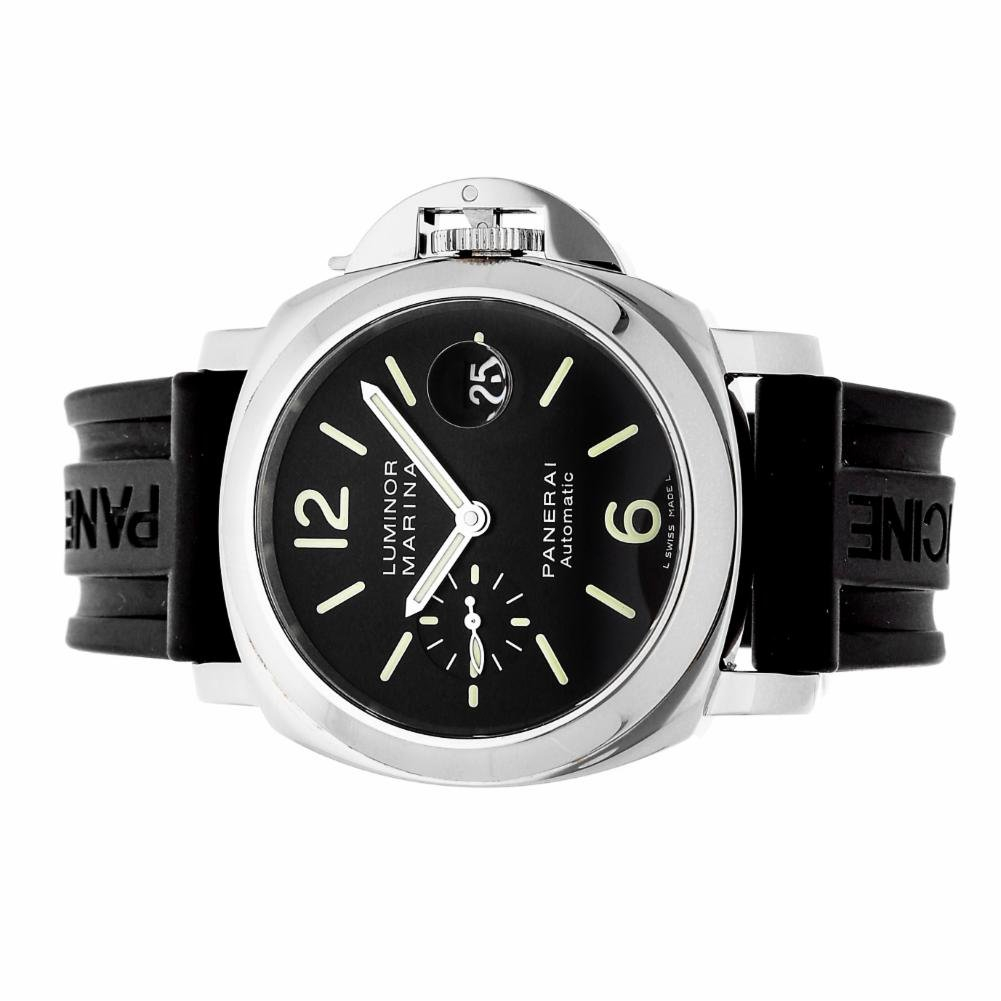 Panerai Luminor automatic-self-wind mens Watch PAM00104 (Certified Pre-owned)