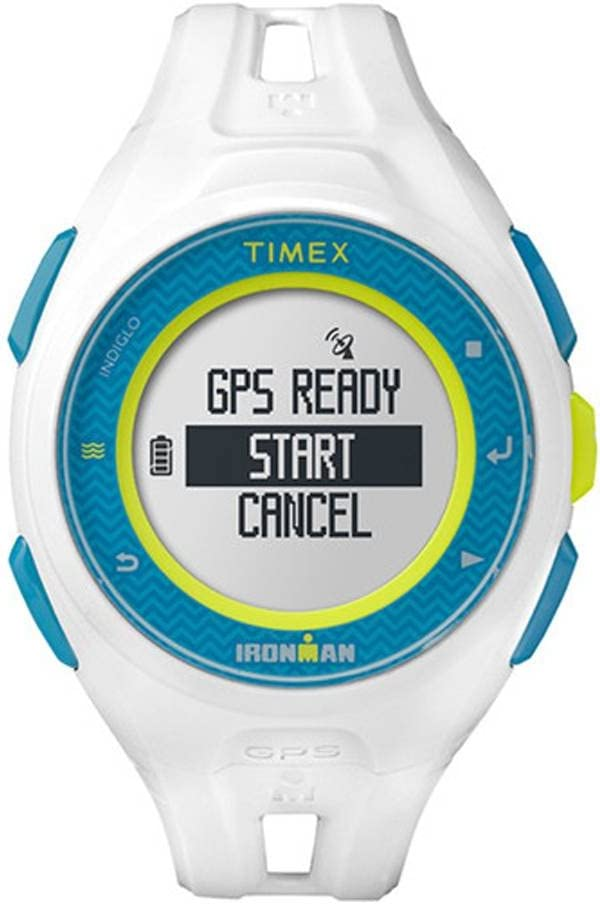 Timex Run x20, Reloj Deportivo con GPS, edición Limitada, Color Blanco